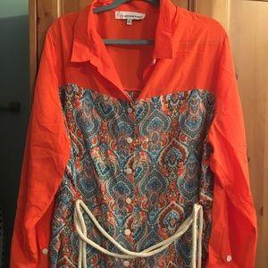 Beautiful shirt dress